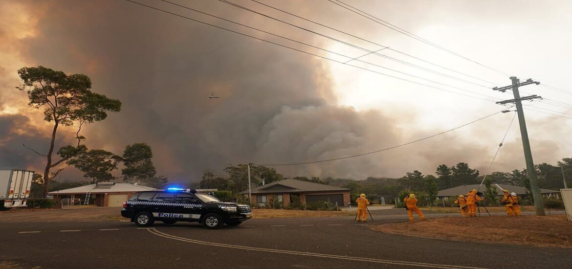 Australia's raging bushfires had their effects continents away