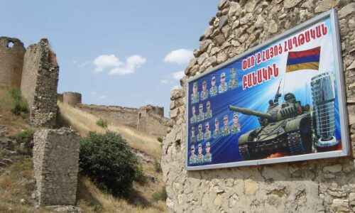 A long-running conflict between Armenia and Azerbaijan has devastated local rivers