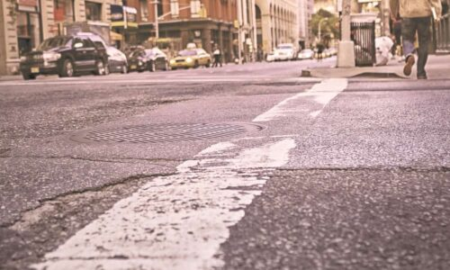 Lighter pavement can cool down warming cities