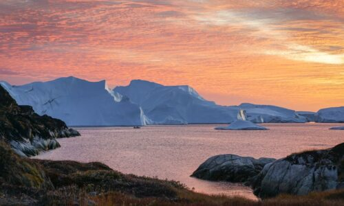 With the Artic melting, sustainable development must be a priority