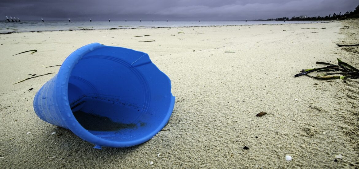 Much of ocean plastic ends up in an unlikely place: back on land