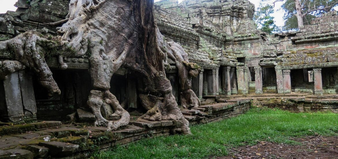 The Angkor and Mayan civilizations can 'teach us about climate resilience'