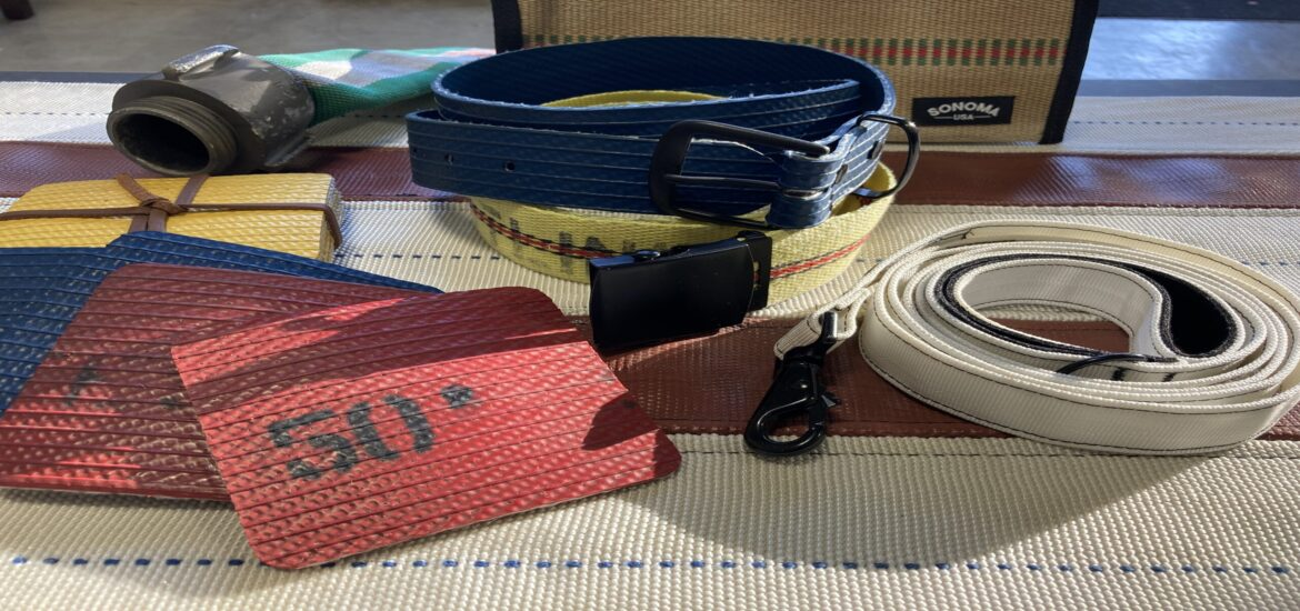 California firm upcycles fire hoses used in fighting wildfires