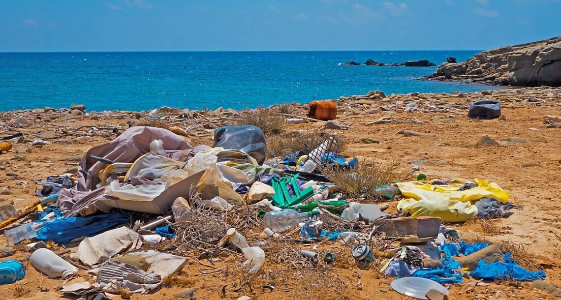 Your plastic waste may end up befouling a beach far away